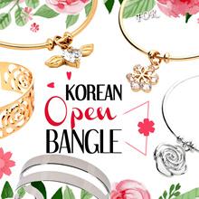 ❅ OPEN BANGLE ❅ BRACELETS ❅ CHARM BRACELET ♡ KOREAN FASHION ACCESSORIES / JEWELRY / mothers day gift