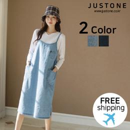 9bdedfa0bf03  JUSTONE❤  Howling denim string dress   Free Shipping   Korean Fashion
