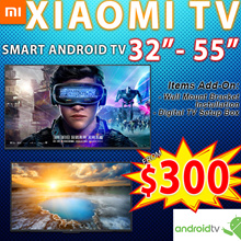 Smart xiaomi Android TV 32 43 50 55inch except V4 55inch