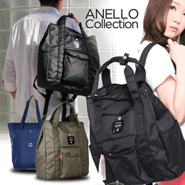4f5c7073374 Qoo10 -    NEW   Anello Collection 2018 WOMEN BACKPACK💕 luggage travel bag  b...   Bag   Wallet