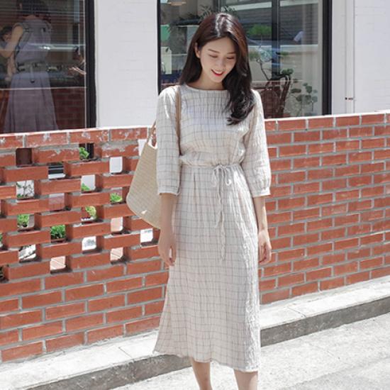ミミ・アンド・ディディzuca ops5065 綿ワンピース/ 韓国ファッション