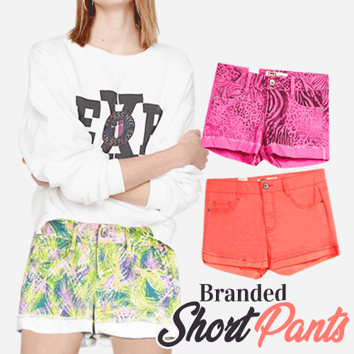 New Collection..!! BRANDED SHORT PANTS MANY COLORS Deals for only Rp19.000 instead of Rp86.364