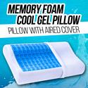 Cool Gell Memory Foam Pillow | Original| Untuk Kenyamanan dan Tidur yang Berkualitas
