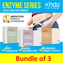 [Lowest price ever!][Bundle of 3] Enzyme Metabolic Enzyme Digest Enzyme Energy