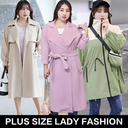 Suitable for autumn winter plus size/ lady fashion top/ dress/pants/look thin/plus size collection