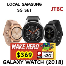 SAMSUNG WATCH 2018 | LOCAL SG 1 WARRANTY | 42mm / 46mm | Midnight black / silver / rose gold