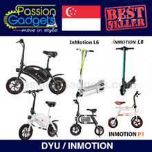 ★Authorized Seller★ LTA Approved ★ DYU Scooter INMOTION L8/L8F P1 / P1F / P1D Electric Scooter