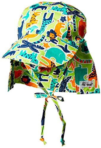 6a2d320a0 [FLAP HAPPY] Baby Boys UPF 50+ Original Flap Hat With Ties