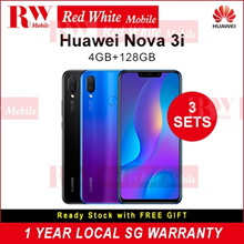 $290 Nett - Huawei Nova 3i 128GB (Black/Purple) 2 Year Huawei Local Warranty | $60 CashBack upon collection