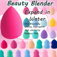 【LATEST 2018】EXPANDABLE IN WATER! ❤ KOREA MAKEUP BLENDER ❤ Teardrop ★ Gourd ★ BB/CC Cream ★