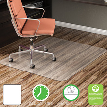 Chair Mat Hard Floor Use for Racing Office Chair Esport Gaming seat Rectangle Straight Edge