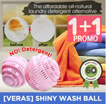 [VERAS]SHINY WASH BALL Laundry Ball Washing Ball Detergent free
