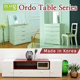 Ordo Dressing Table★TV Console★Accessary Organizer★Drawer★Storage★Furniture★MADE IN KOREA
