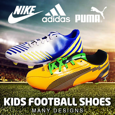 3105fb513ec NIKE ADIDAS PUMA YOUTH JUNIOR KIDS FOOTBALL SOCCER BOOTS FUTSAL INDOOR SHOE  SHOES