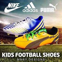 NIKE ADIDAS PUMA YOUTH JUNIOR KIDS FOOTBALL SOCCER BOOTS FUTSAL INDOOR SHOE SHOES
