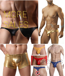 TM Sexy Men Underwear Gold/Silver G321