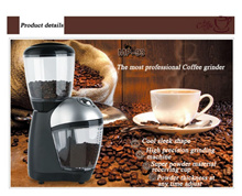 High Power Professional Italian Coffee Grinder Household Electric Beans Nuts Grinding Machine