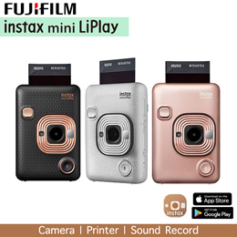 FUJIFILM INSTAX Mini LiPlay Hybrid Instant Camera - FREE GIFT WORTH $79