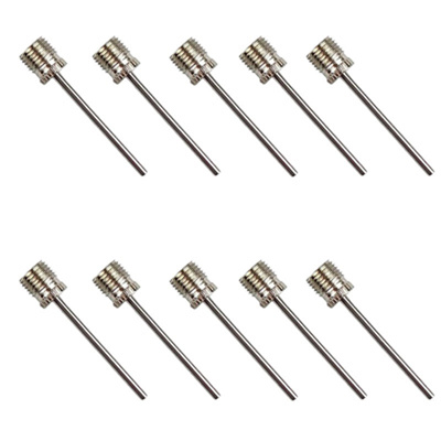 20PCs Pump Pin Basketball Soccer Volleyball Gas Needle Inflatable Metal Needle