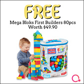 Baby Fair Promo  FREE MEGABLOK TOY [Buy Diapers + Milkpowder]