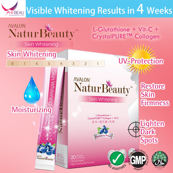 $30* each! AVALON™ NaturBeauty™ Skin Whitening Collagen Deals for only S$68.9 instead of S$0