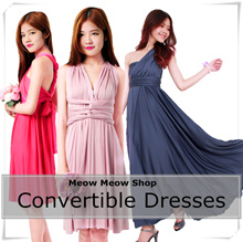 [CONVERTIBLE DRESS]/Infinity dress/Multi way/ rainbow colours/bridesmaid /dinner/wrap /wedding