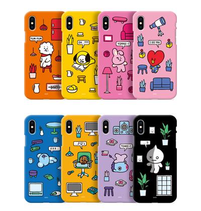 【BT21 OFFICIAL GOODS】 BT21 JELLY PHONE CASE/ BT21 CLEAR JELLY iPhone case BT21 ROOMIES SERIES