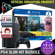 [MAKE $389 + Free Random Game] Playstation 4 Slim 500GB Hit and Party Bundle (LATEST VERSION)