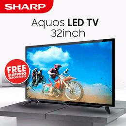 Sharp 32 Led Aquos Tv - Lc-32le180i