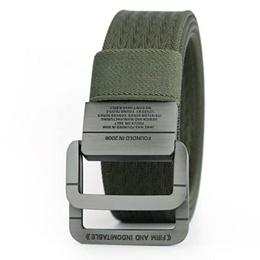 밀리터리 택티컬 벨트 Man Double Ring Buckle Thicken Canvas Belt SDL-HK1005