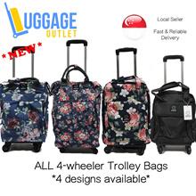 ★6 designs!★4-wheeler Bags★2-in-1 Dual Usage Laptop Bag / Trolley Backpack / Trolley Bag /  Laptop