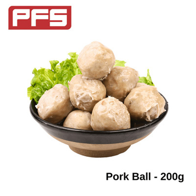 [Lion Dance Brand Pork Ball]-200g/pkt