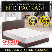 [Qoo10 Trusted Bed Packages] Mattress Only Available!!!  Bed Mattress LOW PRICE GOOD QUALITY