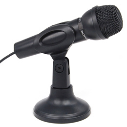 ★Microphone Mic for Laptop PC Computer MSN Skype Web Chat Gaming Online★3.5mm Wired condenser microp