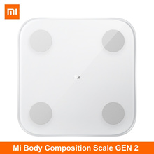 Xiaomi Mi Body Composition Digital Weighing Scale Smart Fat Scales Gen 2 - 2019 Version
