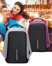 USB Charging Port Anti-Theft Laptop/Travel/Camera big unisex backpack