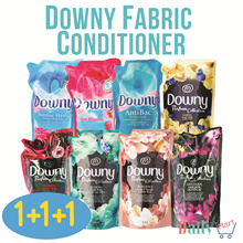 Downy Laundry Softener 1+1+1 Refill Pack. Anti-Bac/Passion/Romance/Sunrise Fresh/Mystique/Daring