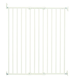 BabyDan Scandinavian Pet Design Extra Tall Wall Mounted Gate - White