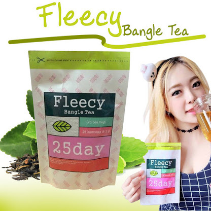 Fleecy Bangle Slimming Tea Deals for only Rp65.000 instead of Rp65.000