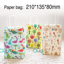 Cute Paper Bag l Goodie Bag Packaging l Dinosaur Bag l Gift Packaging