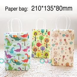 Cute Paper Bag l Goodie Bag Packaging l Dinosaur Bag l Gift Packaging