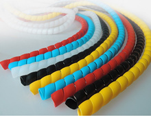 10mm/12mm Coloured Cable Wrap. Suitable for Escooter / Ebike / Home Cables Management