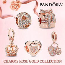 [FREE SHIPPING] PAND0RA CHARMS ROSE GOLD COLLECTION