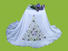 Telekung Sulam * 3D Flower* FLower Tower* Embroidery Flower*High Quality Silk Cotton