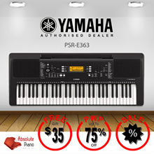 [ DIGITAL PIANO SALE!] ★★ Yamaha PSR-E363 Portable Keyboards★★| Music Keyboard | Portable Keyboard