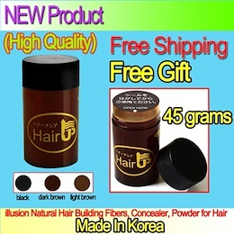 [made in korea] hair building fibers 45g x 1pcs or 2pcs or 3pcs  Hair Thickening Fibres Concealer