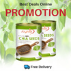 [2 Cans Promo!!] - JOYMIX NATURAL CHIA SEEDS (2X 400G) / Free Delivery!!