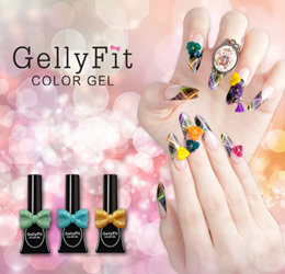 Gellyfit Gel Polish fro Korea. Professional Beautiful Gel nail color you will love.