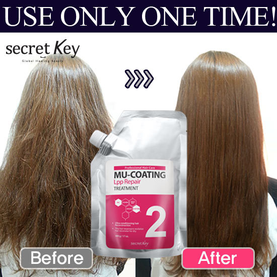 ?1-DAY SUPER SALE?Mu-coating LPP repair Hair treatment/Same effect of expensive salon! Deals for only S$25.9 instead of S$0