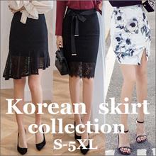 ★★ The new Korean version of the printed skirt  S~5XLsize   Simple Skirt/  Mini Skirt